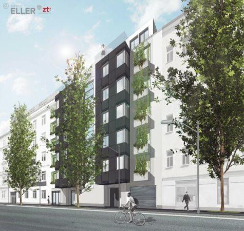 Neubauprojekt * Lokal/Büro * AN DER FREIEN MITTE – Erdgeschoß, 1200 Wien, Bürofläche